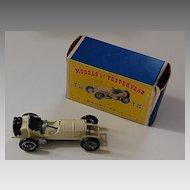 vintage GRAND PRIX MERCEDES (w/Original Box) - Yesteryear / Lesney  Y10-1 / 1908