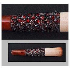Antique Jeweled CIGARETTE HOLDER, Original Case, c1900