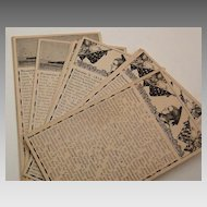 Vintage NAVAL POST CARDS - 53 Sequential Itinerary, c1911-1912 (US South Carolina)