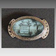 Rare, MEMORIAL CLASP (Necklace Clasp) 18th Century