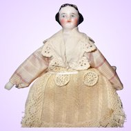 Tiny Round Face China doll