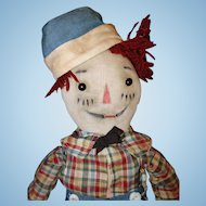 Early Volland Raggedy Andy Cloth Doll
