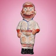 Baseball Player Tiny Doll Pin