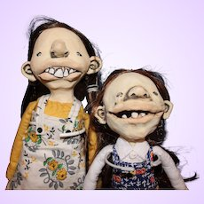 Character Dolls by Lesley Anne Green
