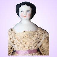Small Flat top China Doll 1860
