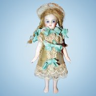 French All Bisque Barefoot Mignonette Doll a/o