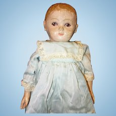 Oil Painted Rollinson Cloth Doll