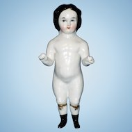 Early China Frozen Charlotte Doll