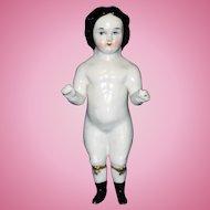 Early China Frozen Charlotte Doll