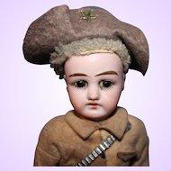 Rough Rider German Bisque Doll