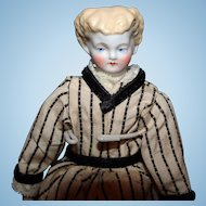 Petite Parian Blond bisque  Doll