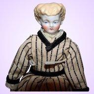 Petite Parian Blond bisque  Doll