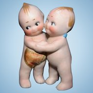 Kewpie Huggers German Bisque Rose O'Neil