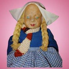Milwaukee WPA Dutch Doll All Cloth