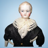 Blond Bisque Parian Boy Doll