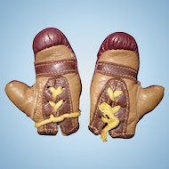 Boxing Gloves Doll Size Effanbee Champ Doll