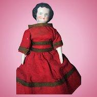Small 6 3/4 inch China Doll 1860