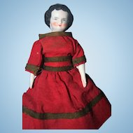 Small 6 3/4 inch China Doll 1860