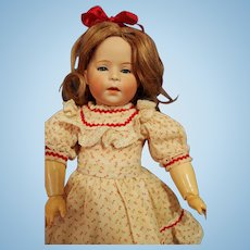 Swaine Bisque Socket Head Character Doll