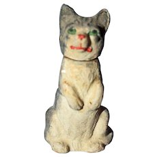 Cat Candy Container Paper Mache Germany