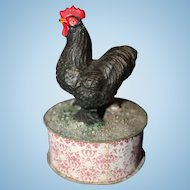Rooster Candy Container Paper Mache Germany