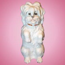 Gebruder Heubach All Bisque  Dog