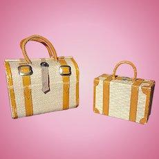 Doll Luggage for a French Fashion Doll