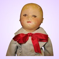 Small Martha Chase All Cloth Oil Painted  Doll