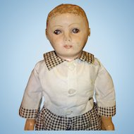 Rollinson All Cloth and Oil painted Doll
