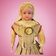 Pierotti Wax Doll Hamley stamp
