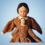 Covered Wagon China with her Own Doll