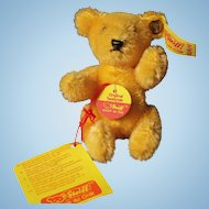 Steiff Teddy West Germany Golden Mohair