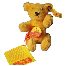 Steiff Teddy West Germany Golden Mohair