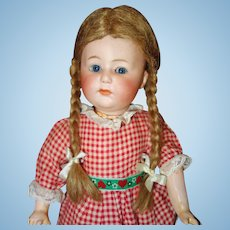 Gebruder Heubach 8420 Character Girl Bisque