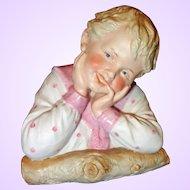 Gebruder Heubach Smiling Boy All Bisque