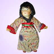 Tiny Gebruder Kuhnlenz Japanese Doll all original