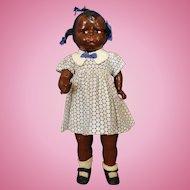 Black Effanbee Baby Grumpy Doll Hard to find