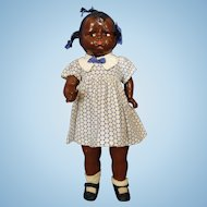 Black Effanbee Baby Grumpy Doll Hard to find