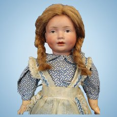 Kley and Hahn 536 Character Doll 12 1/4 inches tall