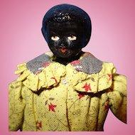 Black China Doll house Size Doll
