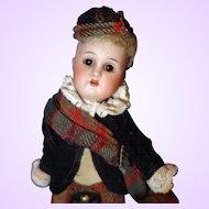 Kammer and Reinhardt Simon Halbig Scottish Doll A/O