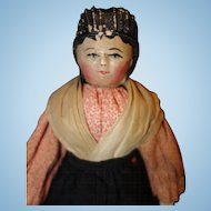 Early All Wood Jointed Doll