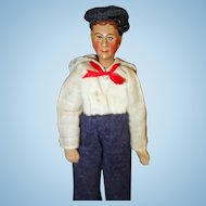 Bucherer Sailor Doll Switzerland all original
