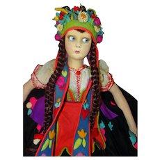 Lenci Mara 165/1 Boudoir doll Tagged Superb Condition