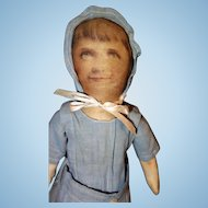 All Cloth Early Photo Face Doll