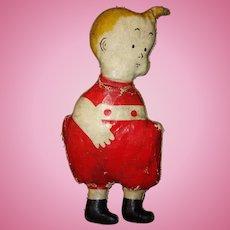Skeezix Oil Cloth Doll
