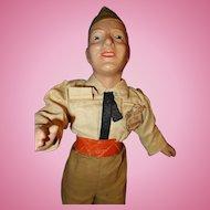 Freundlich Soldier Military Doll Composition