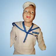 Freundlich Sailor Military Doll Composition