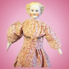 Rarer Blond Petite Flat Top China Doll