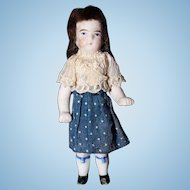 All Bisque German Petite Doll